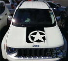 Jeep Renegade Hood Army Star Graphic Vinyl Decal Sticker Reflective Cast SUV Car