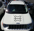 Jeep Renegade Logo Graphic Vinyl Decal Sticker Hood Side Reflective Camo Options