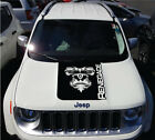 Jeep Renegade Hood Yeti BigFoot Graphic Vinyl Decal Sticker Side Reflective SUV