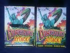 Vintage 1988 Topps Dinosaurs Attack! 2 Box Lot With Posters Case Fresh Boxes