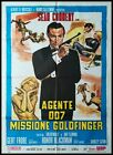 JAMES BOND GOLDFINGER 1964 Original Movie Poster 39x55