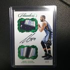 2016-17 Panini Flawless Marc Gasol 4 5 Emerald Green Dual Patch Auto Autograph