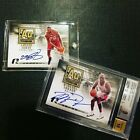 Michael Jordan and Lebron James 2008-09 UD Radiance AU Standard Auto # 23 BGS