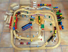 Huge Thomas & Friends Wooden Railway LOT ☆ 43 trains/cars - 194 pieces + Gift!