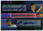 2004 SP Prospects DALE MURPHY CHRIS NELSON RC Dual Auto Link to the Past # 50