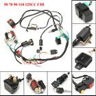 50cc 125cc CDI Wire Harness Stator Chinese ATV Electric Assembly Wiring Quad Kit