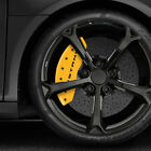 Yellow MGP Caliper Covers w Bar  Pony fits 2015 2019 Ford Mustang Set of 4