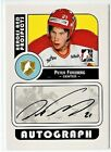PETER FORSBERG 08-09 ITG HEROES AND PROSPECTS AUTOGRAPH AUTO SP