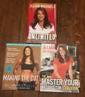 Jillian Michaels Biggest Loser 3 Book Lot Unlimited Master Metabolism Cookbook +