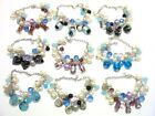 WHOLESALE LOT OF 50 PIECES PCS OF NEW MURANO GLASS FANCY BRACELETS