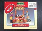 LEMAX Village Collection - 2000 PHIL'S FARM STAND Poly-Resin Figurine - NIP
