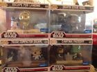 4 Funko Pop! Star Wars Movie Moments #222, 223, 224, 225 Wal-Mart Exclusive Set