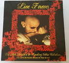 Gothic Rock Music CD Box Set + Tee Shirt Book 10 Disc Set LIVE FOREVER Horror