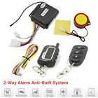 Anti-theft Motorcycle Security 2-Way Alarm 3-buttons Remote Control Engine Start