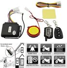 1 Set Anti-Hijack Motorcycle Security 2-Way Vibration Alarm Remote Engine Start