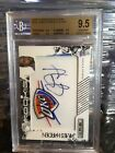2009 JAMES HARDEN AUTO Rookie Logo Patch RC 449 BGS 9..5 10 POP 27 WOW All 9.5