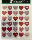 1 sheet 30 stickers Valentines day funny heart Stickers scrapbooking card