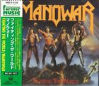 MANOWAR =FIGHTING THE WORLD= AMCY-3122    MINT !!!!!  WITH OBI   FREE SHIPPING