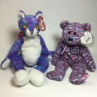 TY Beanie Baby - Kooky and USA Stuffed Animals Plush Toy 2 For $10