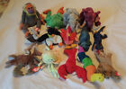 Lot of 14 TY Beanies~10 Teenie Beanies + 4 Beanie Babies~Bananas Panama Colosso
