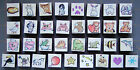 ALL NIGHT MEDIA MINI ALL STARS TINY RUBBER STAMPS BUILD YOUR OWN SET YOU PICK