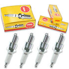 4pcs Moto Guzzi V-35 II IMOLA NGK Standard Spark Plugs 350 Kit Set Engine be