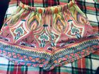 Tyche Brand Bold Bright Printed Shorts Large