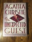 AGATHA CHRISTIE  THE UNEXPECTED GUEST by Charles Osborne 1999 hardcover HCDJ