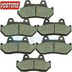 F&R Carbon  Brake Pads fit 1983-1986 1985 1984 Honda VF 1100 C V65 Magna