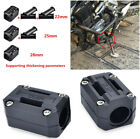 2x 22/25/28mm Motorcycle Engine Protection Guard Bumper Block Anti-scratch Black