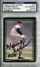 1993 Action Packed ASG Coke/Amoco WARREN SPAHN Signed Card PSA/DNA Slabbed Auto