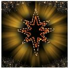 Christmas Nativity Star of Bethlehem Outdoor LED Lighted Decoration Wireframe