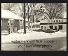 Vintage Sunoco Gas Station PHOTO Pumps Gasoline 22 CENTS!! Brown Brothers