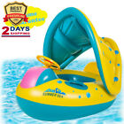 Baby Pool Float with Canopy Inflatable Swimming Floats Water Toys for Kids