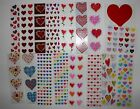 Mrs Grossman sticker 1 sheet hearts love valentines You Choose