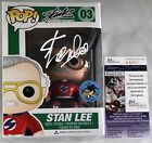 STAN LEE SIGNED COMIKAZE EXCLUSIVE FUNKO POP SUPERHERO FIGURE AUTOGRAPH +JSA COA