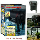 MarineLand Bio Wheel Penguin 75 GPH Power Filter Size 10 Gallon Free Ship