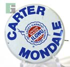 Carter Mondale ILGWU INT Ladies Garment Union Political Election Campaign Button