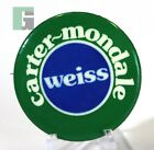Carter-Mondale Weiss Vintage Political Election Campaign Button