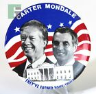 Carter Mondale Political Election Campaign Button Pin