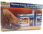 Revell Highway Scenes 1969 Ford Talladega with Die-Cut Diorama 1:24 #85-7803