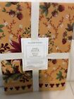 Williams Sonoma Berry Meadow Runner New Gold 18x108