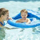 Baby Float Seat With Canopy Floaties Toys Swimming Pools Raft Blue For Toddler