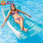 GIANT Rockin Inflatable Pool Float Lounge Raft Chair Floating Water Toys 74x39