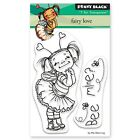 Fairy Love Little Girl Clear Unmounted Rubber Stamp Set PENNY BLACK 30 530 New