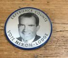 Nixon /Lodge Political Flasher Button