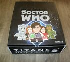 TITANS VINYL FIGURES DISPLAY BOX OF 20 GERONIMO COLLECTION DOCTOR WHO