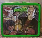Vintage 1979 Universals Movie Monsters Metal Lunchbox No Thermos Aladdin