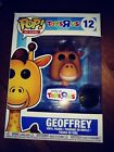 FUNKO Pop Ad Icons #12 GEOFFREY Toys R Us Exclusive Golden Ticket NEW