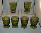 INDIANA GLASS WHITEHALL JUICE WATER TUMBLERS SET OF 6